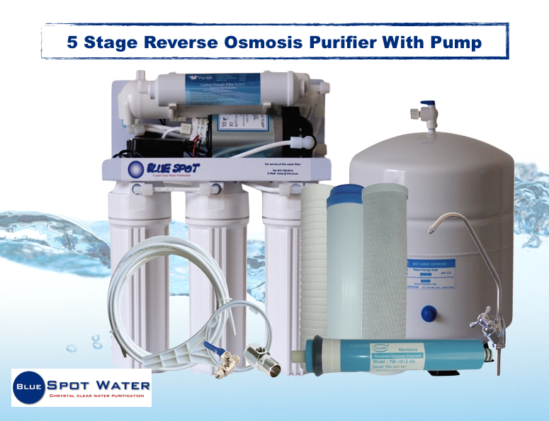 5-stage-reverse-osmosis-purifier-with-pump
